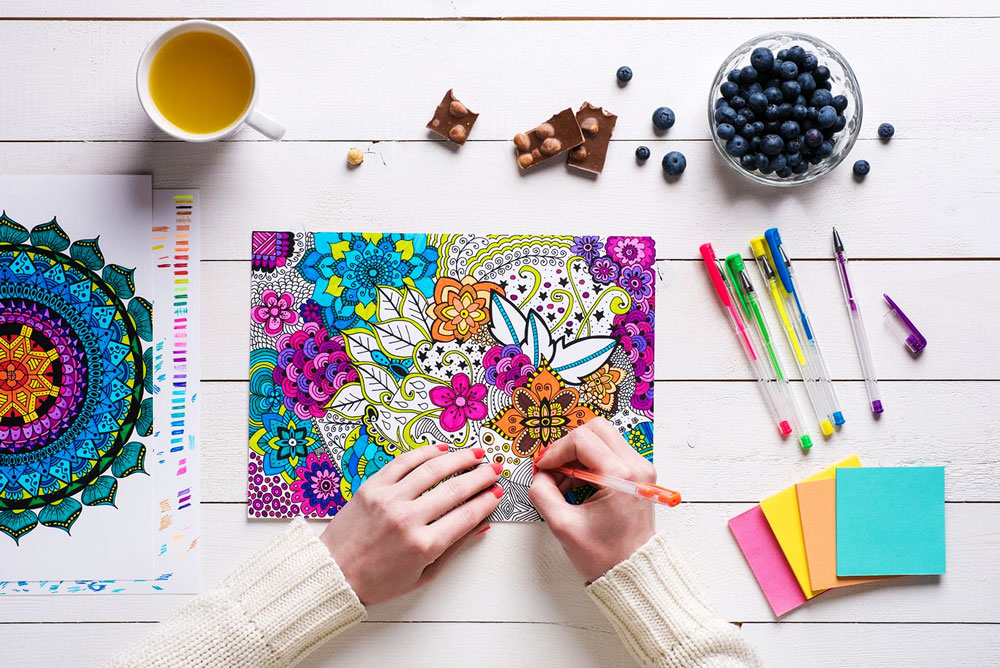 Coloriage Anti Stress Cest Quoi.Coloriage Anti Stress De L Art Therapie Pour Les Adultes